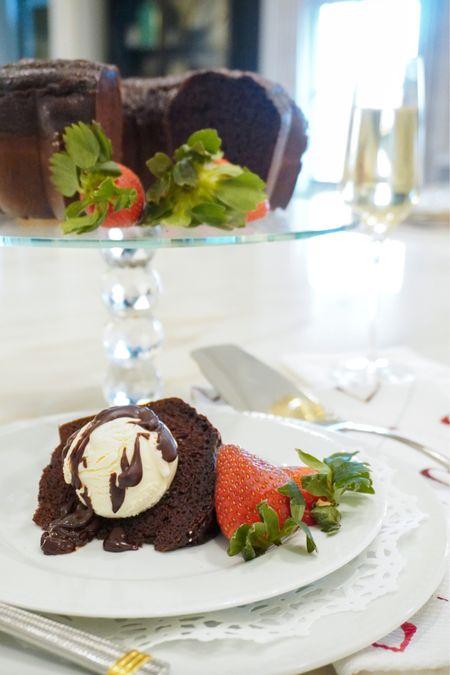 Everything needed to make the best triple chocolate pound cake!   #LTKfamily #LTKhome #LTKunder100