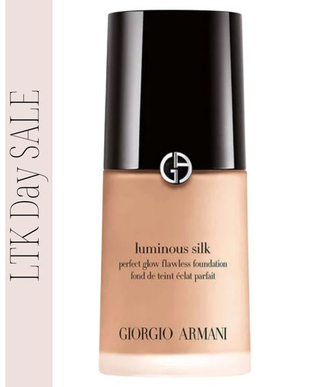 Armani Luminous Silk is the best your skin but better foundation and currently on sale! Armani Luminous Silk Foundation, Glowy skin, flawless skin http://liketk.it/3hgHG #liketkit #LTKDay #LTKsalealert @liketoknow.it