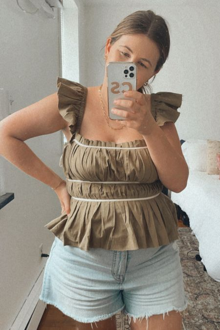 Under $50 corset top