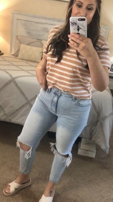 Walmart try on haul! #jeans #hat #top #affordable #casual #casualstyle  #walmartfinds #comfy #walmartfashion   #LTKstyletip #LTKunder50 #LTKcurves