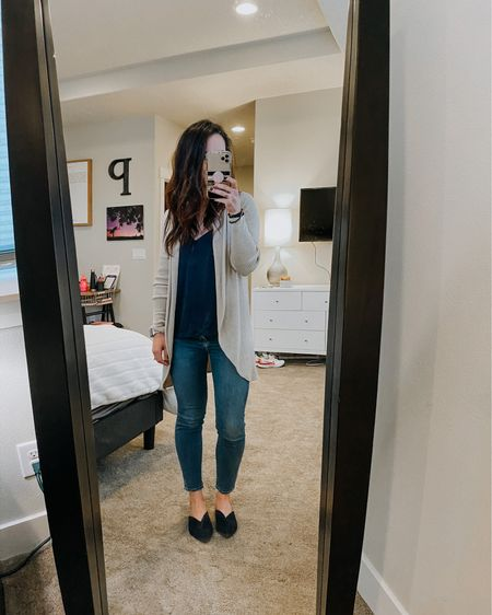 All navy everything (almost).  Plus my fave easy cardi  . .  Shop your screenshot of this pic with the LIKEtoKNOW.it shopping app #LTKunder50 #LTKunder100   @liketoknow.it #liketkit http://liketk.it/2KZtF