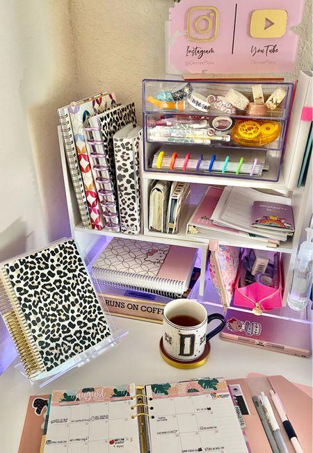 Planning for August at my Desk... my favorite part of my desk!   #ltkplanning #ltkoffice #ltkdeskaccessories #ltkplanner #ltkdeskorganization  #LTKunder100 #LTKhome #LTKunder50