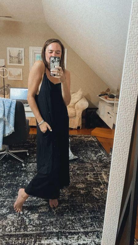 The perfect summer black dress under $50 from ASOS. Black dress for summer, black midi dress.   #LTKSeasonal #LTKunder50 #LTKstyletip