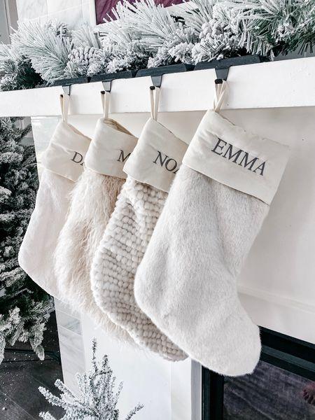 Our Christmas stockings from pottery barn!   #LTKHoliday #LTKSeasonal #LTKhome