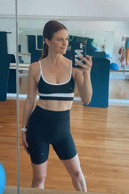 Bike shorts, Abercrombie, activewear, sporty, LTK day, finding beauty mom, workout http://liketk.it/3hgPR #liketkit @liketoknow.it #LTKDay #LTKunder100 #LTKfit