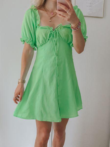 Green Dress http://liketk.it/3k475 #liketkit @liketoknow.it #LTKstyletip #LTKunder50 #LTKeurope #green #dress