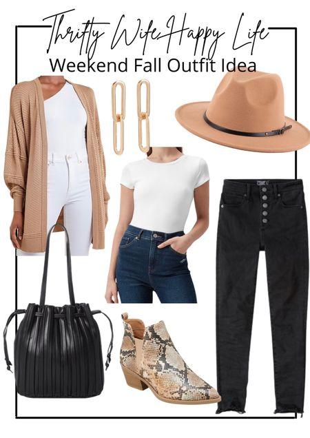 Affordable fall outfit inspiration.   #LTKSale #LTKunder100 #LTKSeasonal