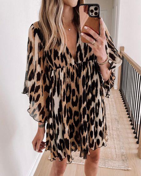 Leopard Ganni dress (tts) on sale! #dresses #summerdress #leopard http://liketk.it/3ihfi #liketkit @liketoknow.it #LTKstyletip #LTKsalealert
