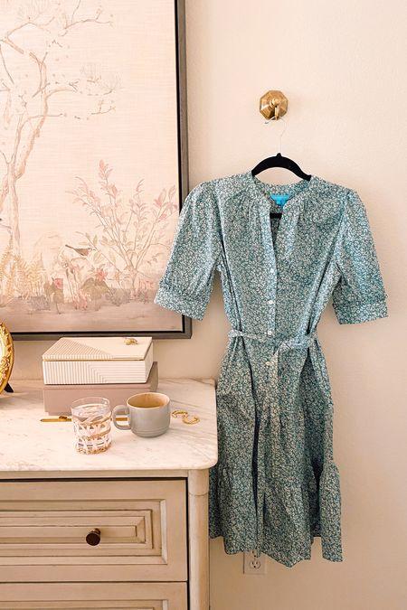 The prettiest Fall floral belted swing dress.   #LTKSeasonal