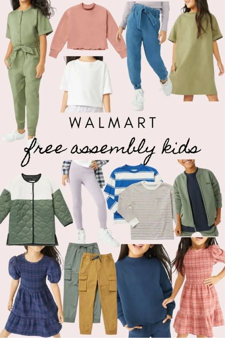 AD | some more favorites from Walmart's Free Assembly line for kids!