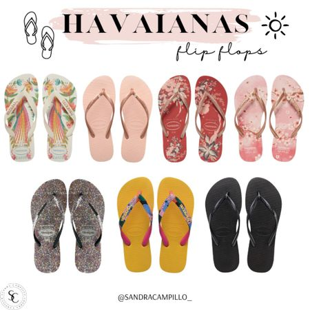 I'm a huge fan of flip flops, especially in the summer so I'm sharing one of my favorite brands and styles that would go with any sundress or shorts. These are super cute for just about any summer style dresses up or down!   #Havaianas #Nordstrom #flipflops #sandals #beachoutfit #beachshoes #swimwear #vacationoutfit #casualstyle #LTKitbag #LTKswim  #LTKunder50 #LTKSeasonal #LTKshoecrush
