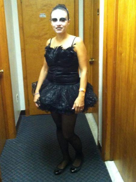 DIY Halloween costume idea. This black swan Costume is super East to put together.   Halloween costumes, fall outfits, seasonal   Follow me on LIKEtoKNOW.it   #LTKSeasonal #LTKstyletip #LTKbeauty