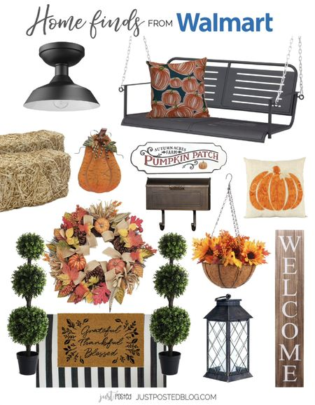 Update your front porch with some beautiful fall items   #LTKunder100 #LTKhome #LTKSeasonal