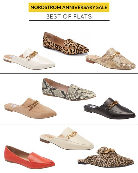 Click the links to see the other color options. NSale flats and mules. Nordstrom Anniversary Sale.     @liketoknow.it  #liketkit http://liketk.it/2TCcc #LTKshoecrush #LTKsalealert #LTKstyletip