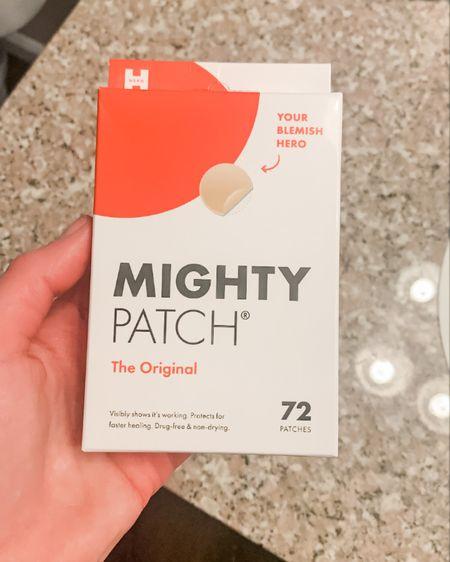 Mighty patches saving my life from my stress induced breakouts.    http://liketk.it/36uuP #liketkit @liketoknow.it #LTKbeauty