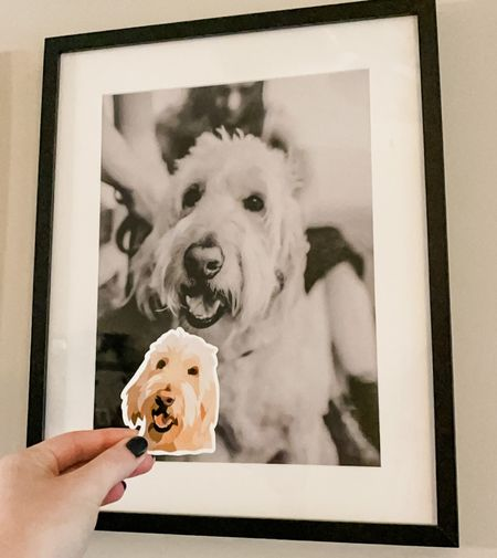 Custom waterproof sticker of your pet      #LTKGiftGuide