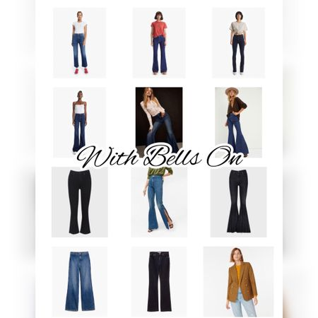 Flares are some of my fave jeans (they're like the party dresses of jeans!) and these are some of my faves! #investmentpiece   #LTKFall #LTKstyletip #LTKunder100
