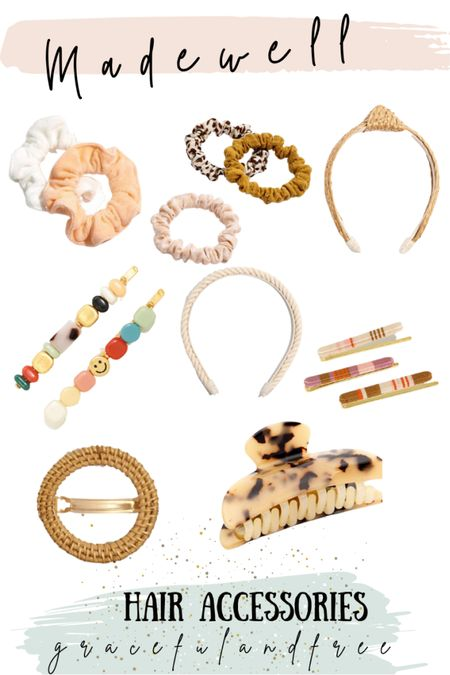 Hair accessories for easy summer hair. Madewell hair accessories http://liketk.it/3iVwp #liketkit @liketoknow.it #LTKstyletip #LTKbeauty #LTKunder50 Shop your screenshot of this pic with the LIKEtoKNOW.it shopping app