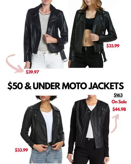 Perfect time for some stylish faux leather jackets - all under $50!! http://liketk.it/3219w @liketoknow.it #liketkit #LTKsalealert #LTKstyletip #LTKunder50