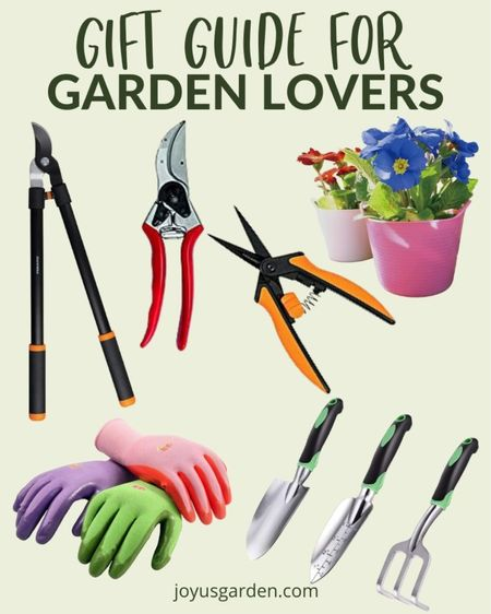 Have a garden lover in your life? Start holiday shopping for them NOW with our gift guide for gardeners. These are my must have tools in the garden. Gardening, garden tools, plant tools, plant gift guide, gardener gift guide, gifts for gardeners, gardening gifts, plant lovers gifts, gifts for plant lovers.   #LTKGiftGuide #LTKHoliday #LTKhome