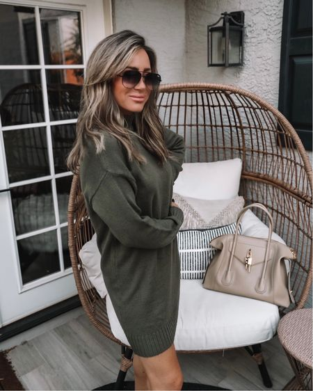 The cutest $49 sweater dress ..tons of colors Sz small    #LTKunder50 #LTKstyletip #LTKitbag