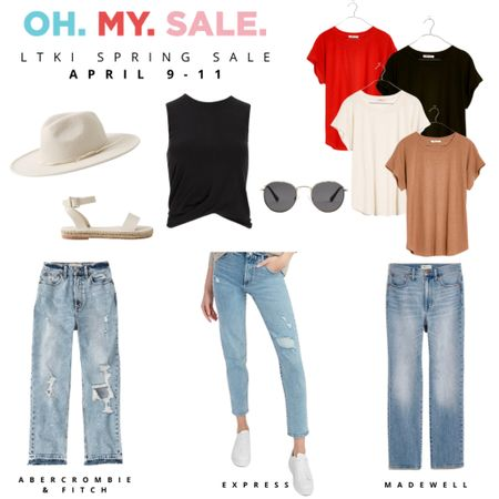 #LTKSpringSale It's almost here! Shop these cute & casual looks from Abercrombie & Fitch, Express, and Madewell during the Spring Sale from April 9-11. http://liketk.it/3ckoH #liketkit @liketoknow.it #LTKworkwear #LTKunder50 @liketoknow.it.family Download the LIKEtoKNOW.it shopping app to shop this pic via screenshot