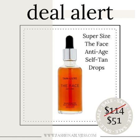 My tanning drops on major sale. This is the super size 👏🏼  #LTKbeauty #LTKunder100 #LTKsalealert