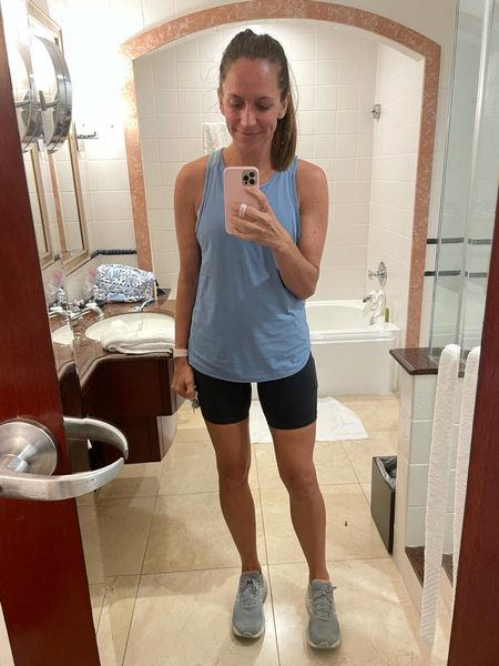 Size up 1 size in bike shorts  #LTKfit