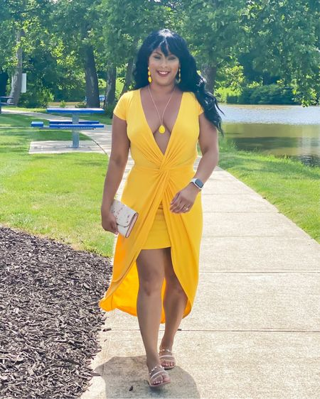 💛 Yellow in July 💛  #LTKstyletip #LTKunder50 #LTKcurves