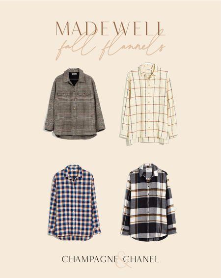 20% off for Madewell insiders!  Fall flannels // Champagne & Chanel   #LTKsalealert #LTKSeasonal #LTKunder100