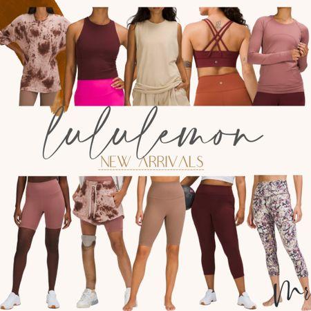 Lululemon new arrivals #lululemon #getfit #leggings #workoutclothes   #LTKstyletip #LTKunder100 #LTKfit