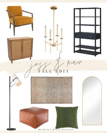 Warm bold home decor. Fall home trends. Modern Farmhouse home decor.   #LTKhome
