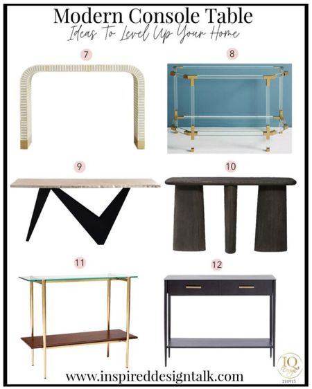 Update your fall decor with a new living room console table.   Living room furniture, modern console table, home decor, living room inspiration.   Follow me on the LIKEtoKNOW.it app for more home decor and furniture ideas.   #LTKstyletip #LTKhome #LTKSeasonal