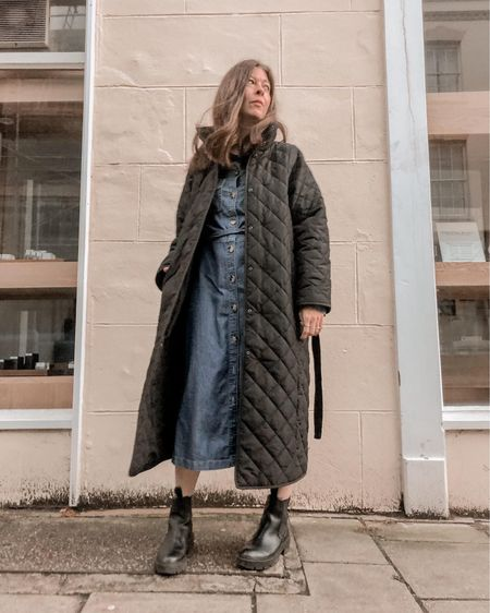 This seasons must have - the quilted coat. So cosy and so versatile. Great dressed up or down! Check out my faves in the links x  #LTKSeasonal #LTKeurope #LTKstyletip