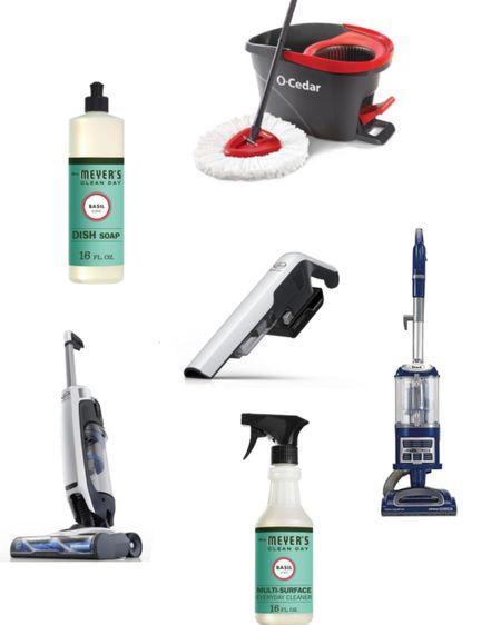 My cleaning essentials! 🧼🧹👏🏼   http://liketk.it/3fkGN #liketkit @liketoknow.it