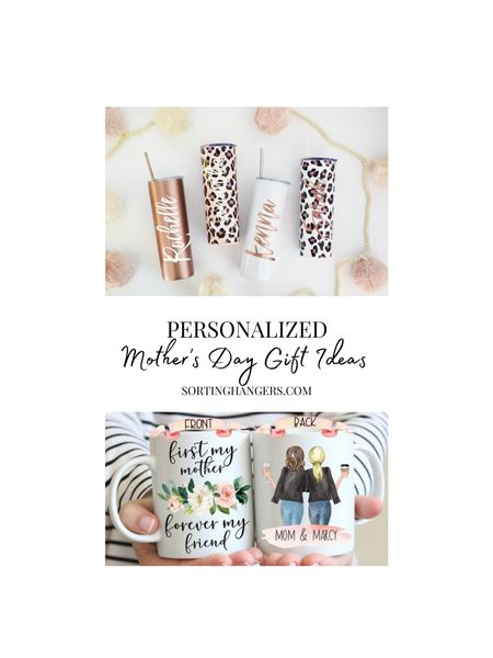 Personalized Mother's Day Gift Ideas  Tumbler | coffee mug    #LTKunder50 #LTKSeasonal #LTKhome