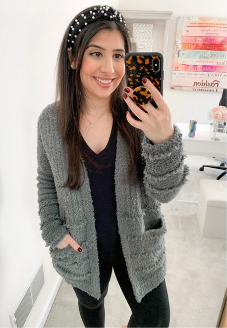 Today's Friday Find is courtesy of my blogger friend Olivia over at @livingstyleinsta. Go give her a follow, if you're not already!  My favorite fall/winter Barefoot Dreams cardigan is on sale for $70 right now. Available is 6 colors and sizes XS-3X. Yes, I know that seems kind of high for a cardigan. I thought the same thing before I tried the Barefoot Dreams brand. I'm here to tell you that (1) I only buy them on sale, (2) I live in them all season long, both as loungewear and for styled looks and (3) you will become addicted, so I apologize to your wallet in advance. Run, don't walk to scoop up this deal!!!  #LTKHoliday #LTKunder100 #LTKSeasonal