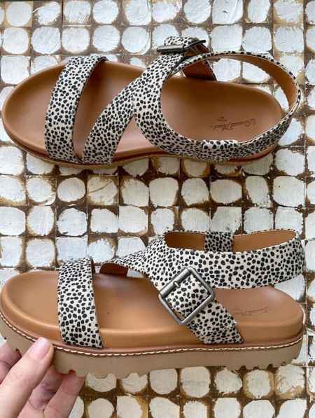 Only some of the cutest sandals that ever lived❤️   Size up .5 in this sandal!   Xo, Brooke  #LTKsalealert #LTKstyletip #LTKshoecrush