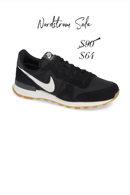 Nikes on sale! Nordstrom sale Nordstrom anniversary sale retro nikes casual look  black sneakers #nsale   #LTKsalealert #LTKshoecrush #LTKfit