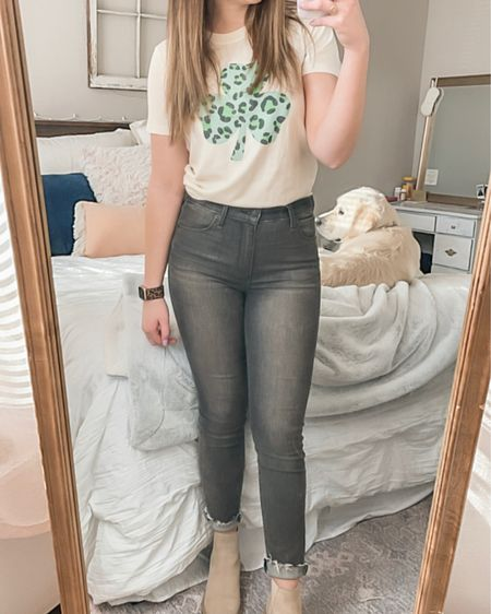 How great is this $8 Target tee for St. Patrick's Day?! 🍀 http://liketk.it/39r7l #liketkit @liketoknow.it
