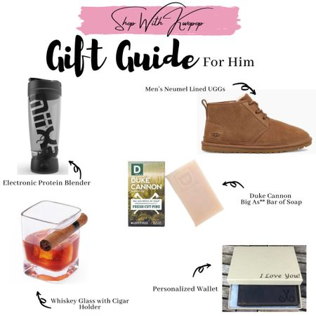 Gift guide for him! Your boyfriend, fiancé or even uncle will love these picks!    Shop your screenshot of this pic with the LIKEtoKNOW.it shopping app http://liketk.it/329x4 #liketkit @liketoknow.it #LTKgiftspo