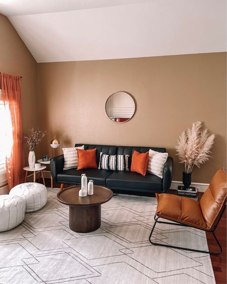 brought a touch of summer with terracotta and gold into our latest living room reveal!! love a home decor moment 🌞 shop almost everything from @walmart (Walmart deals are always the best!) http://liketk.it/3iMSd #liketkit @liketoknow.it #homedecor #walmartdeals #livingroom #LTKhome