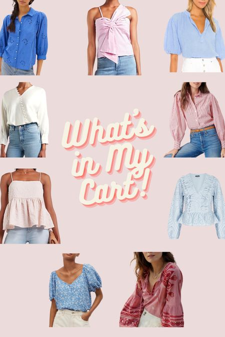 Check out the blouses I'm currently loving!! http://liketk.it/3cfZC #liketkit @liketoknow.it