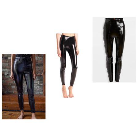faux patent leather pants http://liketk.it/34b85 #liketkit @liketoknow.it