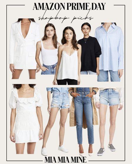 Amazon prime day picks - Shopbop style on sale Lioness white dress on sale Levi's denim on sale Cami NYC Lace Cami on sale  http://liketk.it/3i4SN #liketkit @liketoknow.it #LTKsalealert #LTKstyletip #LTKunder100 #amazonfinds