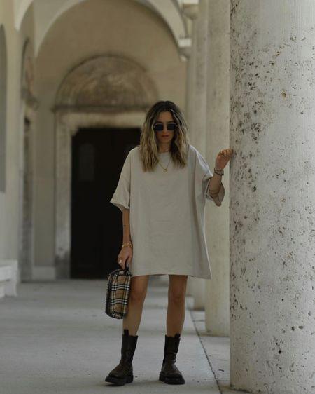 http://liketk.it/2QG2Q #liketkit @liketoknow.it Basic Dress, Shirt Dress, Oversize Look, Oversize Dress, T-shirt Dress, Obviously Oversize Dress, Bottega Veneta