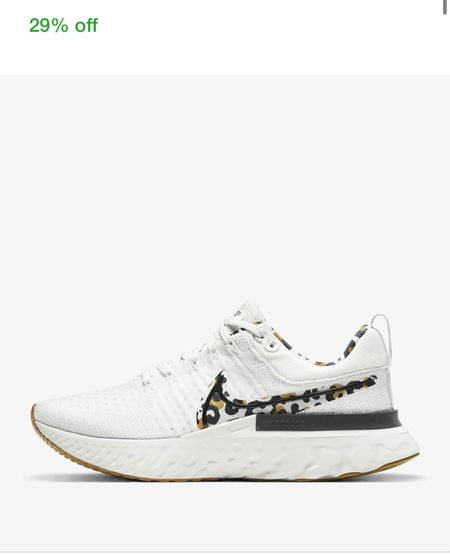 Nike sale - Women's Running Shoe Nike React Infinity Run Flyknit 2 - Nike fly knit - Nike flyknit - Nike trainers - Nike running trainers - Nike sneakers - leopard print trainers   #LTKshoecrush #LTKsalealert #LTKbacktoschool