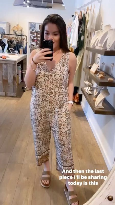 Cleobella romper. Wear this to the farmers market or lounge around the house!  #LTKhome #LTKSeasonal #LTKstyletip