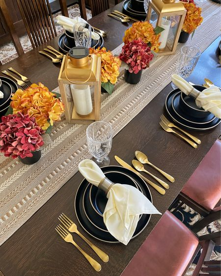 Loving our fall tablescape from #WalmartHome @Walmart     #LTKhome #LTKSeasonal #LTKHoliday