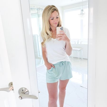 I've got you covered for an amazing white T and coziest lounge wear around! Everything comes in a variety of colors. Here's what I'll be lounging in all summer long! Sharing more in my stories!  ⭐️Use code ' katieg20 ' for 20% off! @tommyjohnwear #noadjustmentneeded #partner  http://liketk.it/3edsF #liketkit @liketoknow.it #LTKunder100 #LTKfit @liketoknow.it.family @liketoknow.it.home